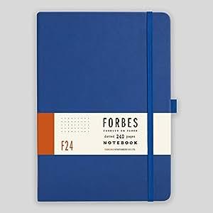 Forbes 经典笔记本 - A5 - 点式 - PARENT A5 蓝色