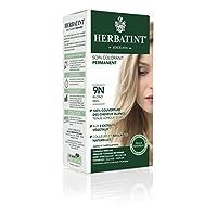 Herbatint Permanent Herbal Haircolor Gel, 9N Honey Blonde, 4 Ounce