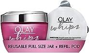Olay 玉兰油 1st Ever 可再填充轻质保湿霜,限量版 100 毫升,将塑料浪费减少 94% 每包捐赠 5 英镑给年轻女性信托
