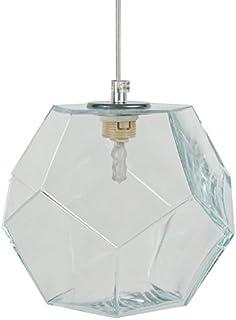 Tosel 14494 Polyeder Maxi 吊灯玻璃嘴吹 190 x 800 毫米 透明 190 x 800 mm