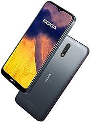 Nokia 诺基亚 2.3 智能手机,无Android UK,无SIM卡,具有2 GB RAM和32 GB存储(双SIM卡)–木炭色,6.2英寸(约15.75厘米)