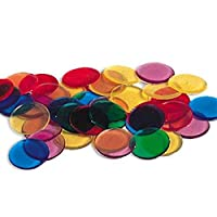 Learning Resources 透明彩色数数片 250片装 数学早教启蒙(适合5岁以上)