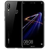 宏信现货 HUAWEI 华为 nova 3e 全面屏手机 移动联通电信4G手机 5.84英寸 (4GB+128GB, 幻夜黑)