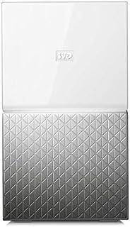 WD My Cloud Home Duo 20TB 个人云存储 - 外置硬盘 2托架-WLAN,USB 3.0。 备份,视频流 - WDBMUT0200JWT-EESN