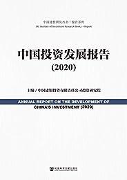 中國投資發展報告(2020) (中國建投研究叢書·報告系列)