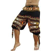 RaanPahMuang 卡普里海盗拼接裤,Swashbuckling Dashiki Art