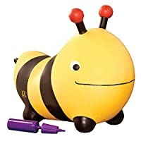 B.Toys 比乐 弹跳忙碌大黄蜂 跳跳球 充气弹跳球玩具 婴幼儿童益智玩具 礼物18个月+ BX1455Z