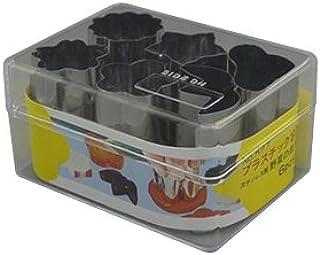 虎王冠 蔬菜切削型 银色 27×39mm P盒装 蔬菜切削型 6P 小 松竹 梅 桔梗 菊 樱 527 6个装