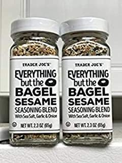 Trader Joe Everything but The Bagel Sesame 调味混合物(2 件装)