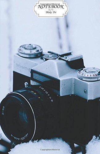 Old Camera Snow Notebook