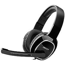 Edifier 漫步者 K815 高音质立体声通讯游戏耳麦 游戏耳机 电脑耳机 黑色