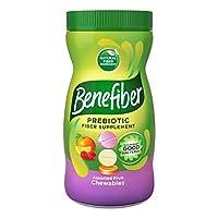 Benefiber Assorted Fruit Sugar-Free Chewable Tablets, Assorted Fruit, 100Count