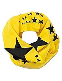 BVB 男士围巾,黑色/黄色,均码,2466633