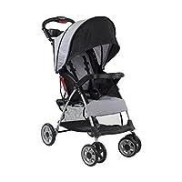 kolcraft Cloud PLUS 轻质婴儿车带5-point *系统和 multi-positon 斜倚座椅, SLATE