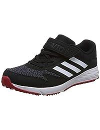 adidas kids 阿迪达斯童鞋 男童 休闲运动鞋 BD7171 一号黑/白/浅猩红 Faito 4 EL K