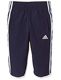 adidas Kids 阿迪达斯 男童 训练 大童梭织七分裤 YB S CL 3/4 PNT