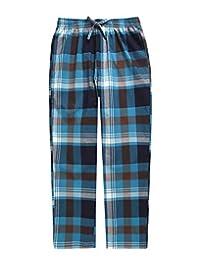 TINFL 6-14 Years 大男孩格子柔软轻质纯棉休闲裤