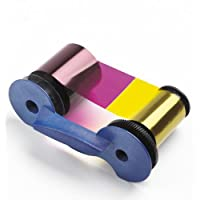 Datacard 彩色丝带和清洁套件,YMCKTKT,300 张印花 (534000-006)
