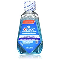 Crest pro- HEALTH mutli-protection 漱口水清新薄荷绿旅行尺码 TSA approved 34.6?gram Pack of 18