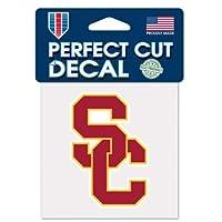 "USC TROJANS OFFICIAL 4""X4"" NCAA CAR DECAL"