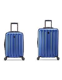 DELSEY Paris 鈦 DLX 2 件套拉桿箱套裝(手提箱和25英寸)