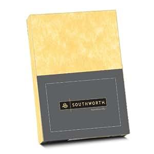 Southworth 80537 羊皮纸 25% 棉,DIN A4,金色,水印90克/平方米,250页纸箱