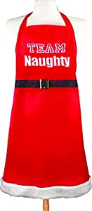 Manual Woodworkers and Weavers Terri Puma Holiday Apron, Team Naughty