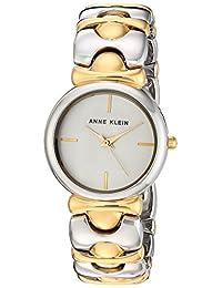 Anne Klein 女士 AK/2635SVTT 双色手链手表