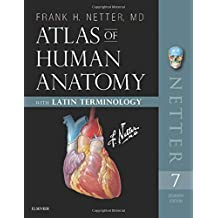 Atlas of Human Anatomy: Latin Terminology: English and Latin Edition, 7e