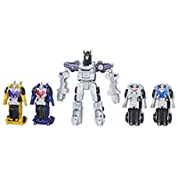 Transformers 变形金刚 伪装合成战队,合成机器人Menasor,8.5英寸(约21.59厘米)