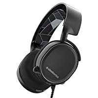 SteelSeries Arctis 3 All-Platform Gaming Headset for PC PlayStation 4 Xbox One Nintendo Switch VR Android and iOS - Black