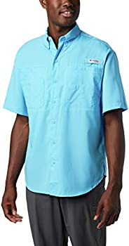 Columbia Men's Tamiami Ii Short Sleeve Shirt, Riptide, X-S