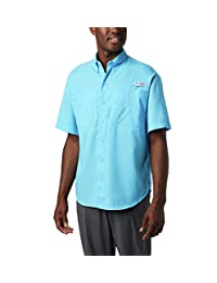 Columbia Men's Tamiami Ii Short Sleeve Shirt, Riptide, X-Small