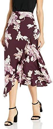 Calvin Klein 女士 下裙 荷叶边裙摆