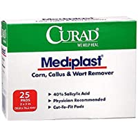 Curad Mediplast Treatment, 25 ct