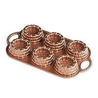 Nordic Ware Cast-Aluminum 不粘烘焙盘,Shortcake Baskets