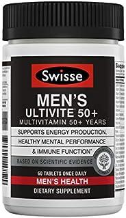 Swisse Ultivite 50+ Multivitamin, Men's, 60 C