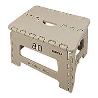 SLOWER(SLOWER) 折叠式踏板 带挂钩 灰白色(沙) 22×32×25cm SLW 132