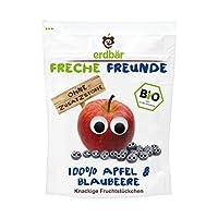 Freche Freunde 苹果&蓝莓水果片12包装(12 x 16g)