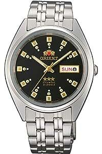 Orient 女式模拟自动手表不锈钢表带 FAB00009B9