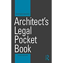 Architect's Legal Pocket Book (Routledge Pocket Books) (English Edition)