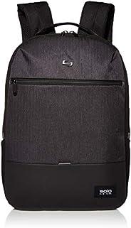 Solo New York 男式重力背包/D 双肩背包 适合 15.6 英寸笔记本电脑和笔记本电脑,非常适合商务、旅游、学校和大学黑色