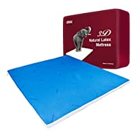 【同价11.11到手2380元】Taipatex天然乳胶升级版3D生态床垫 两面可睡 冷暖可控 6.5cmx180cmx200cm 泰国原装进口