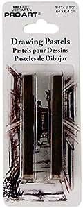 Pro Art 绘画蜡笔,每张卡片 2 张,Bistre