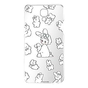 Caho 壳 透明 TPU 印刷 兔子 背景透明WN-LC1026455 21_ LG X screen LGU31 兔子B