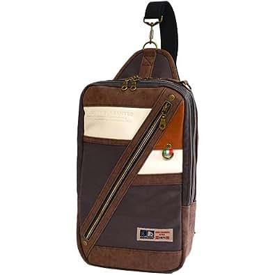 [ Americanino ] 单肩包 Eagle 人造皮革2Way 风格30003 棕色