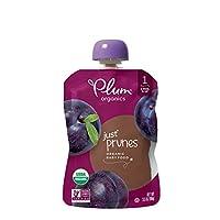 Plum Organics婴儿水果 李子 3.5 盎司袋(99.22克) (12 包)