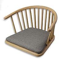 圈椅餐椅无腿靠背椅榻榻米座椅踏踏米坐椅日式椅子和式椅炕椅飘窗 (10)