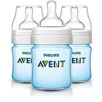 Philips 飞利浦 Avent 抗*** 3件装奶瓶 蓝色 4 盎司