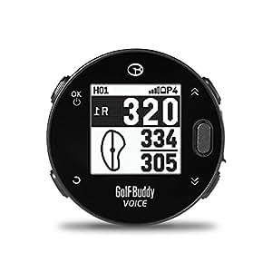 GolfBuddy Voicex 易于使用的智能通话高尔夫 GPS,黑色,小码